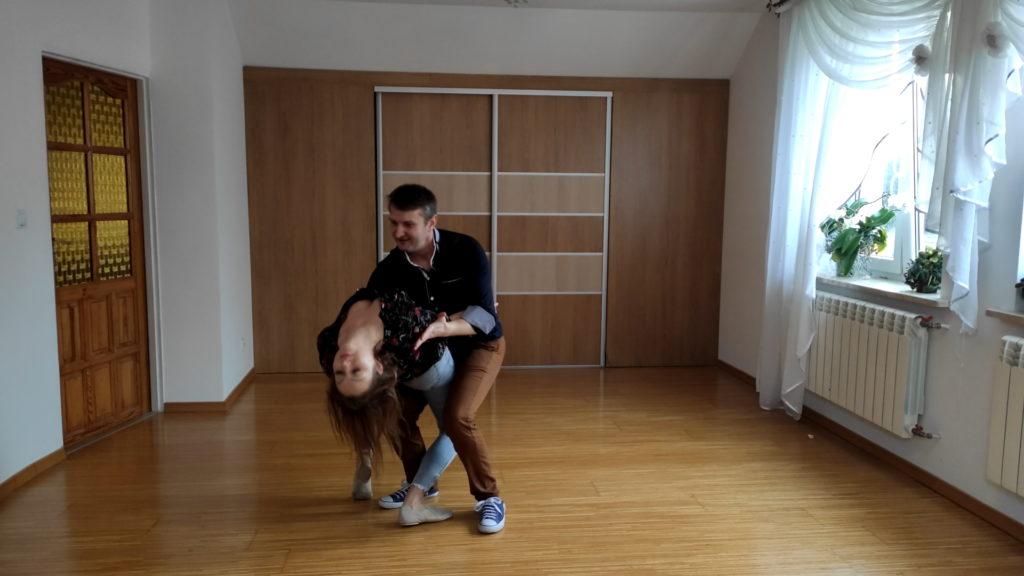 Taniec w domu - efekty